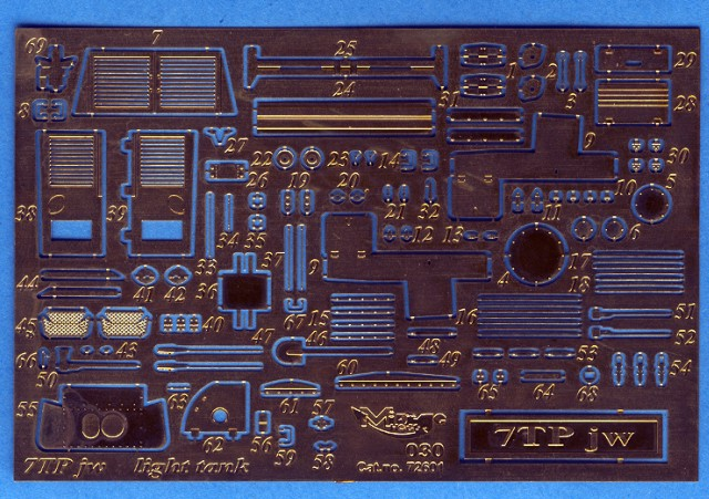 Photoetched Parts For 7tp Kits In 1 72 Scale