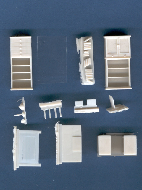 Office Furniture 1 72 Scale