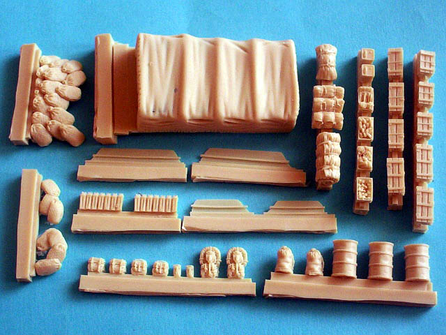 Dukw Accessories Set In 1 72 Scale