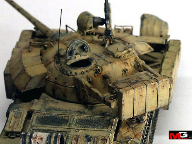 This model is conversion T-54 ACE with metal gun barrel and photo ...