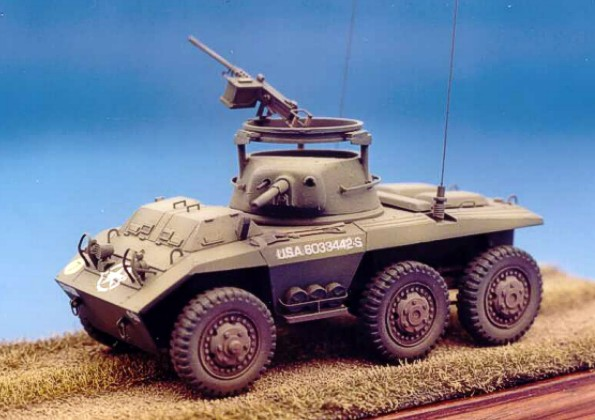 STEVEN J. ZALOGA - M8 Greyhound Light Armored Car 1941-91 (New Vanguard) -