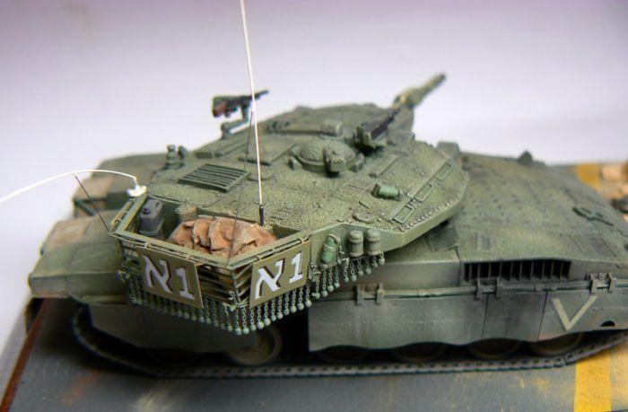 Small Scale AFV | Inspiration | Roman Vasko | Merkava Mk 3D Baz Dor ...